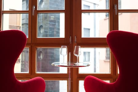 Estudio moderno en Centro de Gijón - Apartamento