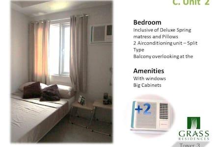 Grass Residence Condominium Units - Quezon City