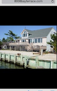 Bay front 4 BR on LBI Harvey Cedars - Σπίτι