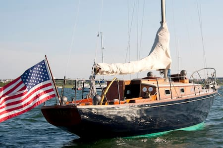 Nantucket Island on classic yacht - Nantucket