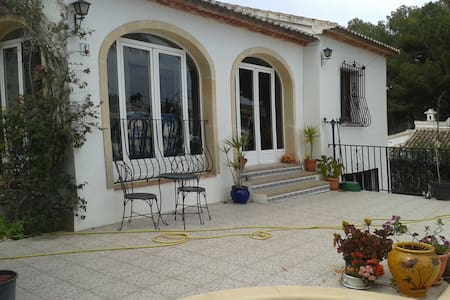 Villa appartment with use of pool. - Javea - Apartamento