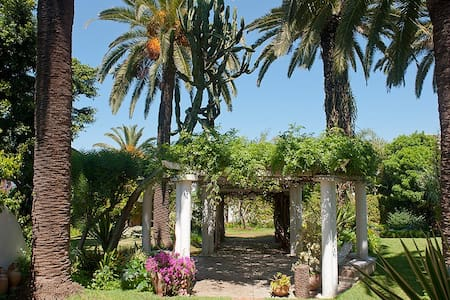 Suite in a large garden in l'Oasis - Casablanca