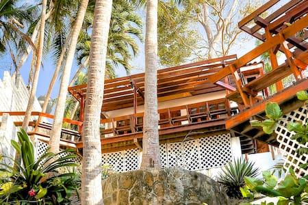 Villa Presili: secluded, beach access, pool  (4) - Contadora Island