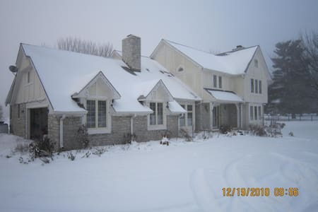 Orchard and Vegetable Farm - Westfield - House