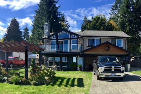 Wonderful Oceanview Getaway - Chemainus - Rumah