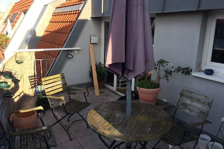 Amazing room with 2 terraces! - Berlin - Apartment