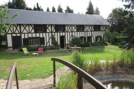 loue maison familiale normande - Maison