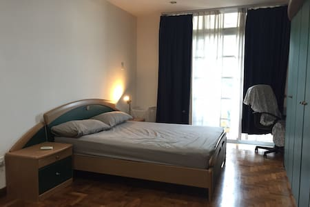 Big room w ensuite bath & balcony, great location - Singapore - Lägenhet
