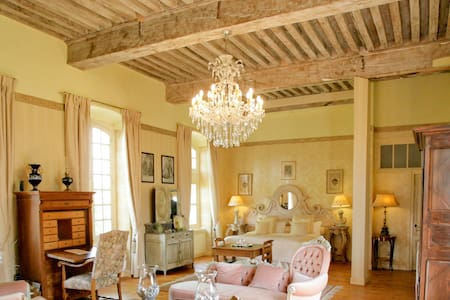 Château d'Origny - Suite Française - Ouches - Bed & Breakfast