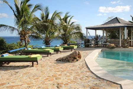 The Carib House 5 bedrooms and pool - Villa