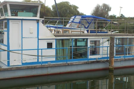 Hausboot nahe Innenstadt Schwerin - Boat