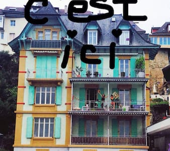 Chambre dans une colocation - Neuchâtel - Apartment