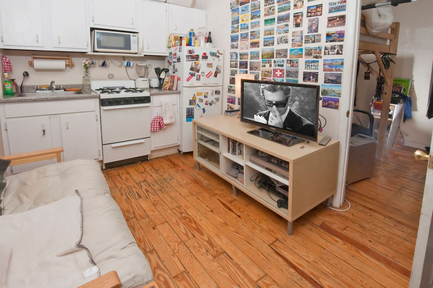 Fun Sublet NYC East Village Apart.