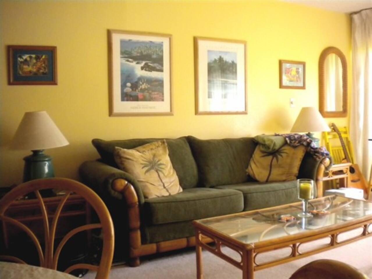 Living Room facing garden