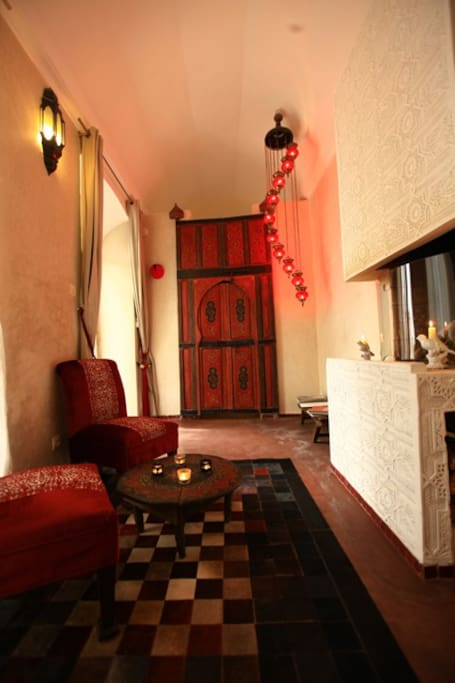 Sublime Red Suite in the Medina