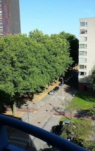 Rustig, mooi en verzorgd appartement - Rotterdam - Huoneisto