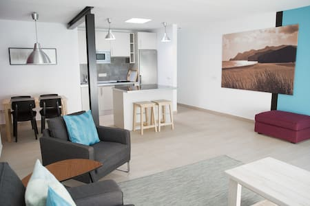 Flat in the center with sea views - Apartamento