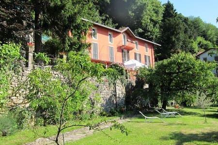 villa, garden, amazing view