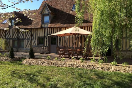 Charming Cottage in Lower Normandy1 - Le Renouard - Huis
