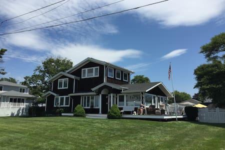 Hamptons House on the Bay - Hus