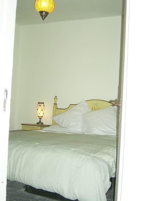 Quiet comfortable, luxury bedding.
