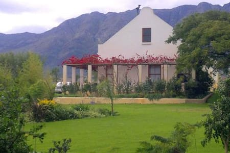 Eikelaan Witzenberg Cottage - Tulbagh Road