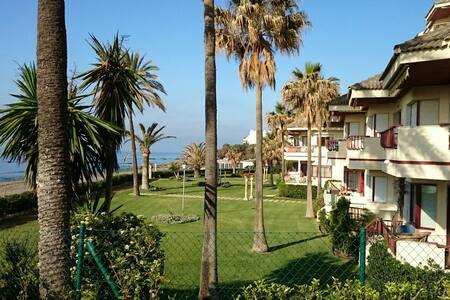 1st line beach, along Marbella.