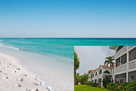 Rare walkout condo on Sanibel beach - Санибел