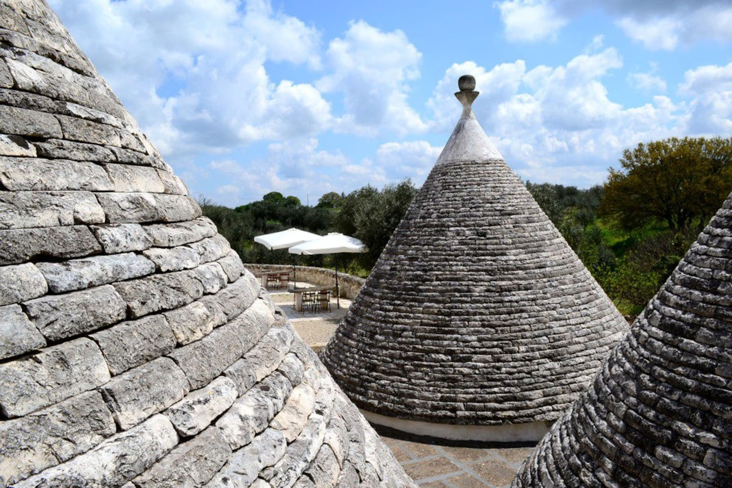 Wonderful views from the top of the trulli!