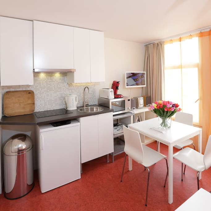 Kitchenette in the studio (1) fully equipped