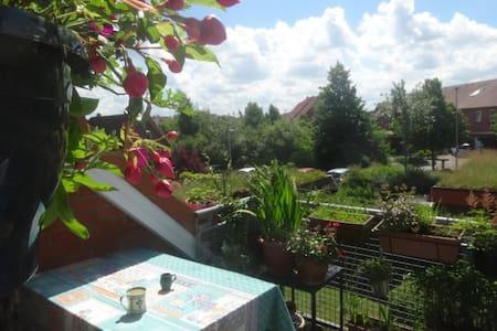 Sonnige Maisonette-Wohnung im Grünen - Condominium