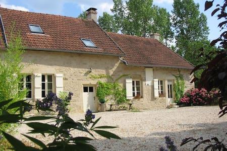 Superb farmhouse in rural Burgundy - Epoisses - Haus