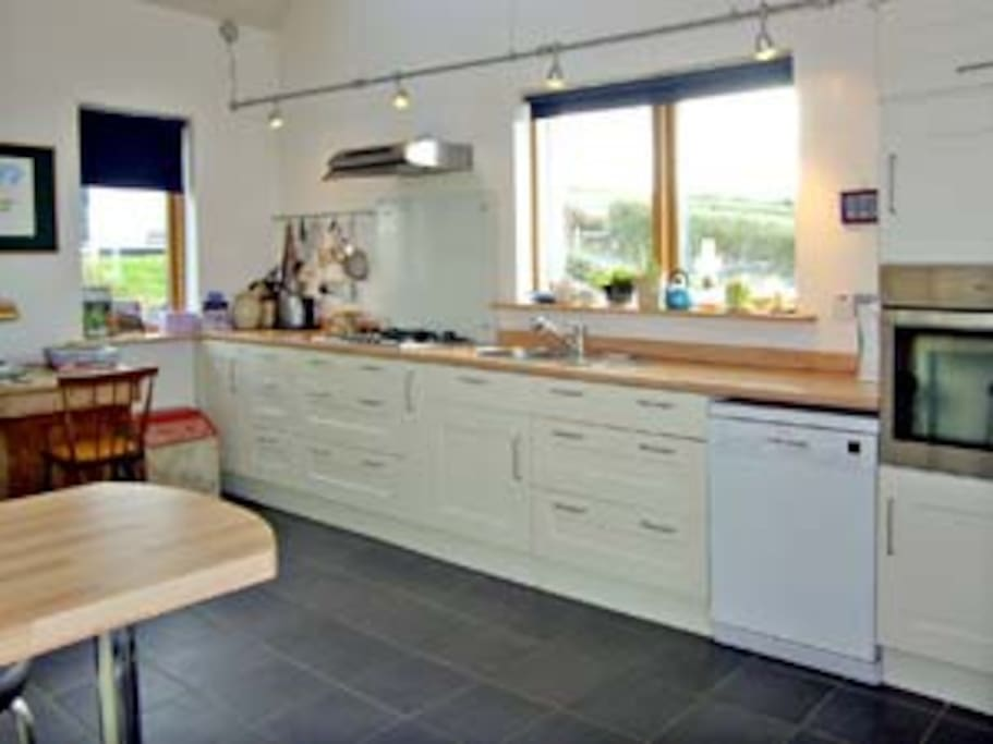 Fully equipped kitchen with all mod cons!