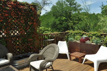 2/1 with awesome patio near Zilker - Austin - House