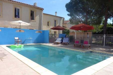 Rose apartment in Villa Roquette