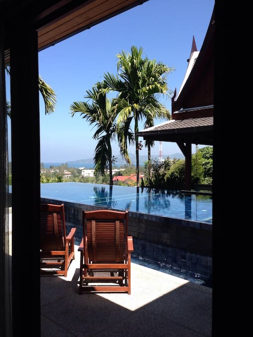 Guest Room in Luxury Sea View Villa