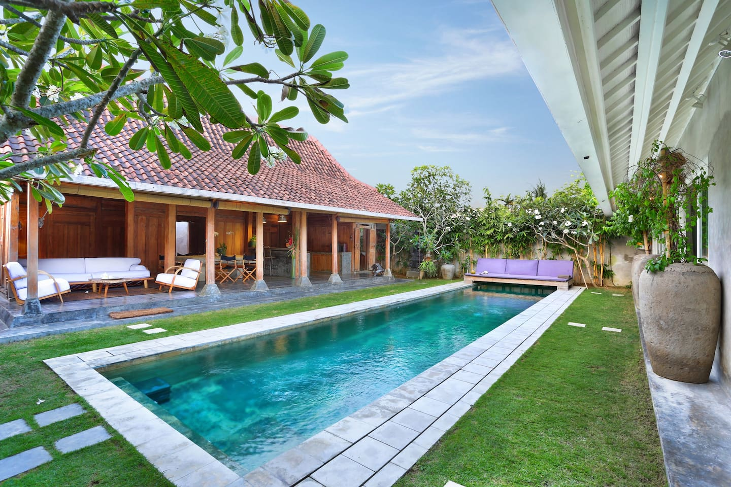 The limasan for the outdoor balinese lifestyle