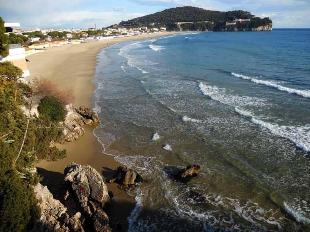 Spiaggia di Serapo, a 5 minuti a piedi da casa