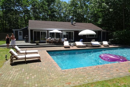 Newly Renovated Sagaponack Gem with great pool - 一軒家