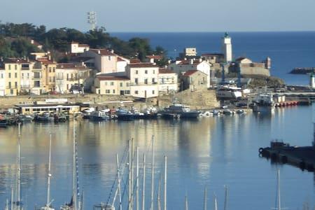 Vue panoramique sur la mer ,2 kms de Collioure - Port-Vendres - Apartment