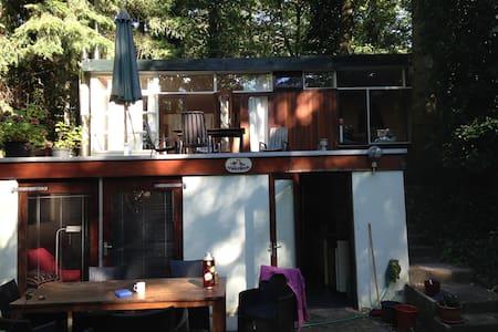 Natuur en Stilte in Romantisch  Boshuis Vinkenoog - Arnhem
