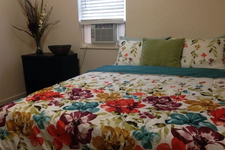 • 2 Guest « Private Room near EWR/NYC/NJ Transit. - Apartment