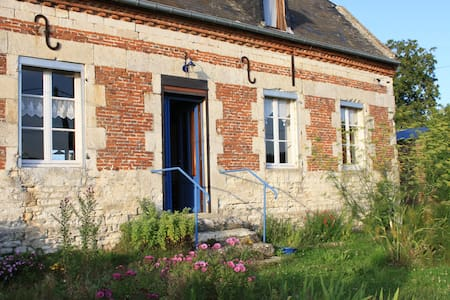 maison ancienne en limite village - Agnicourt-et-Séchelles - Huis