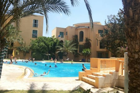 Coquet appartement à Hammamet Sud - Rumah