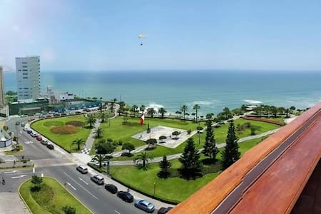 Beautiful apartment with ocean view in Miraflores - Miraflores - Apartament