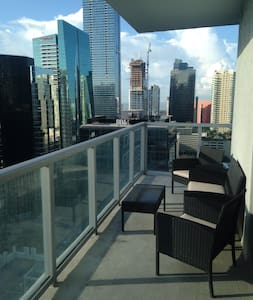 Spacious condo in the heart of Brickell - Apartment