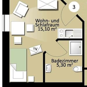 Appartement Nr. 3 - Apartment