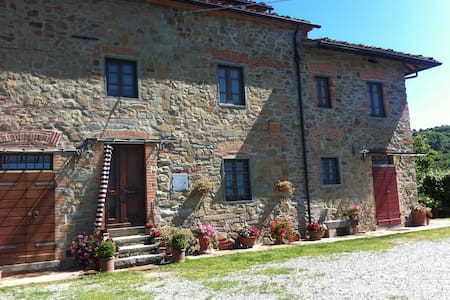 Holiday apartment with view in Tuscany hills - Larciano
