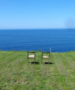 Cottage on a Cliff, close to Gijon - Hus