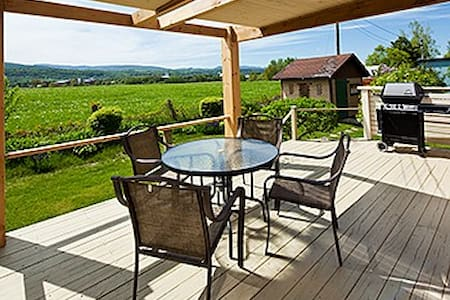 Top 20 baie saint paul vacation rentals vacation homes for Au jardin d ozanne